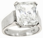 GIA certified diamond and platinum engagement ring appraised to sell.